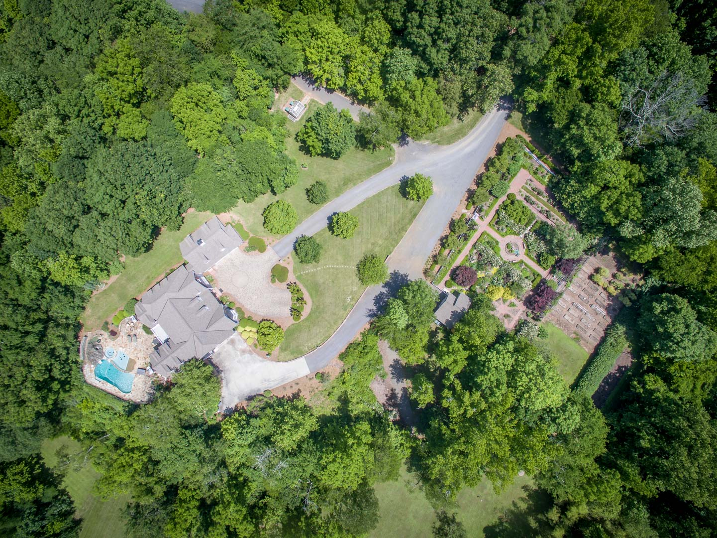 Triad Drone Photography Aerial View